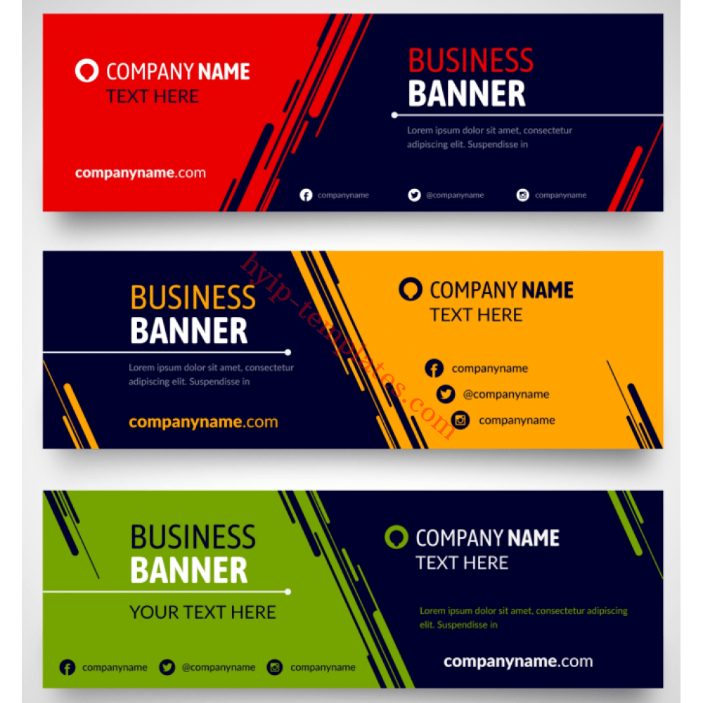 Order Animated Basic Banners 24 sizes for $ 24 in hyip-template.com Throughout Animated Banner Template